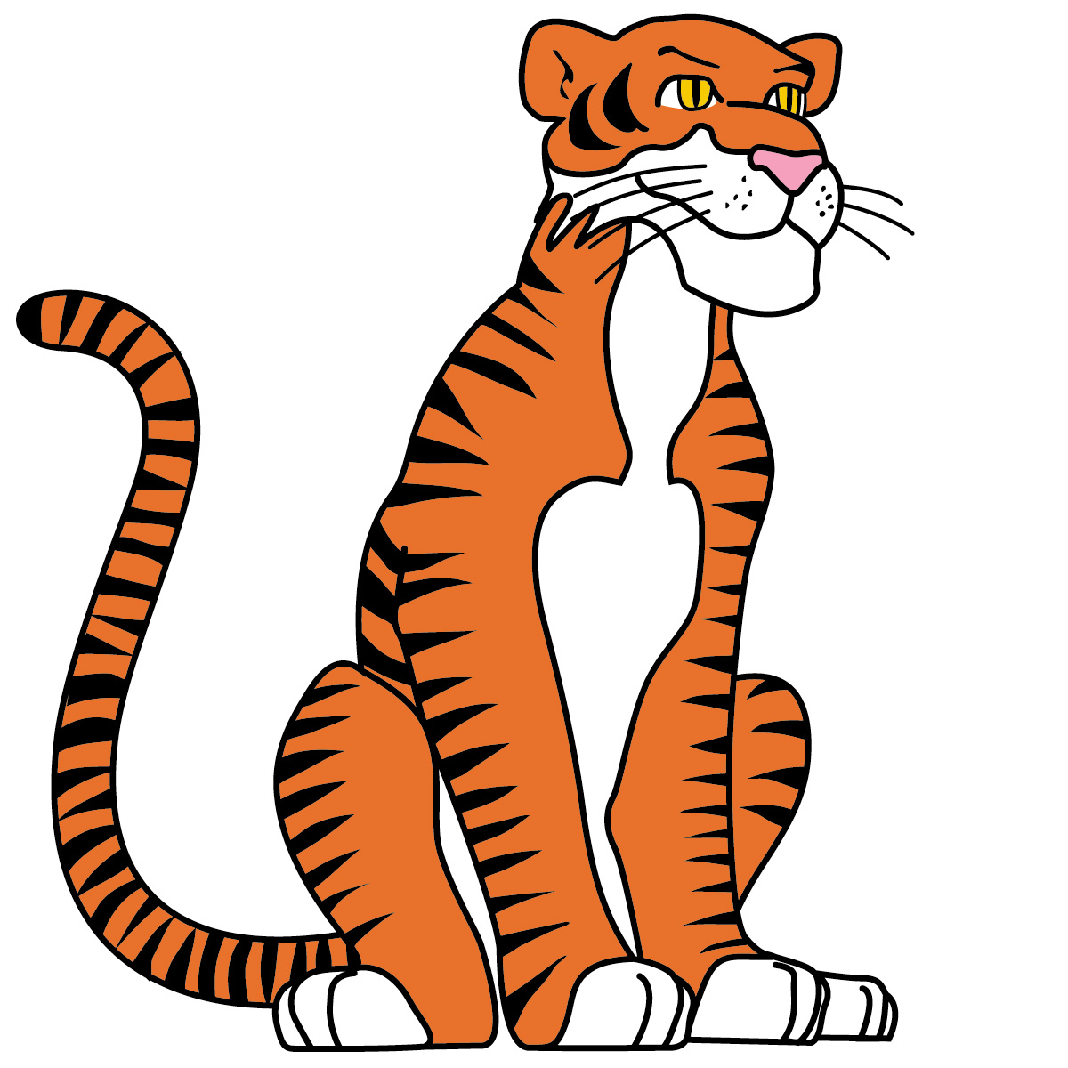 1200x1200 Cute Baby Tiger Clipart Free Images