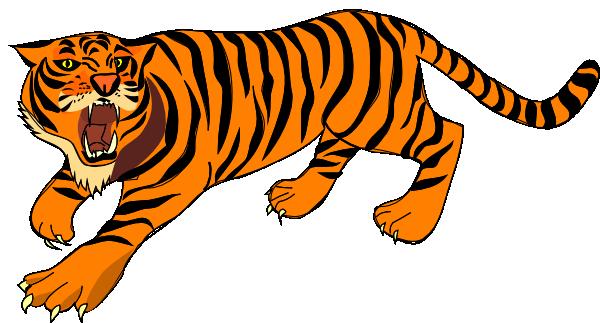 600x323 Baby Tiger Face Clip Art