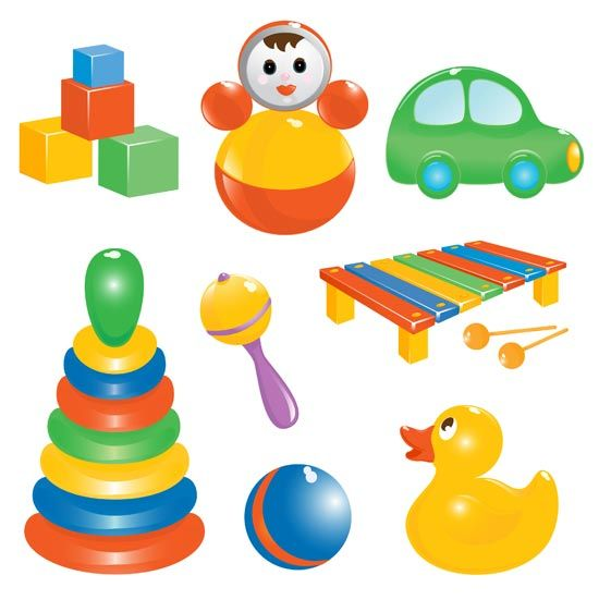 Baby Toys Clipart Images