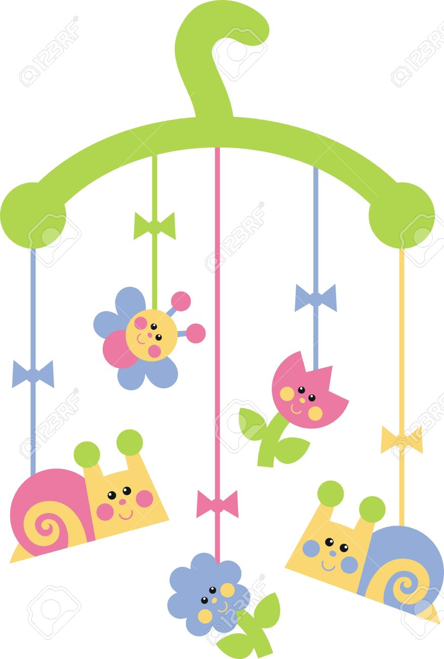 877x1300 Child Mobile Toys Royalty Free Cliparts, Vectors, And Stock