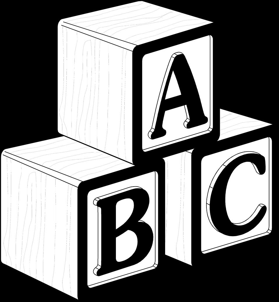 958x1036 Toy Blocks Clip Art
