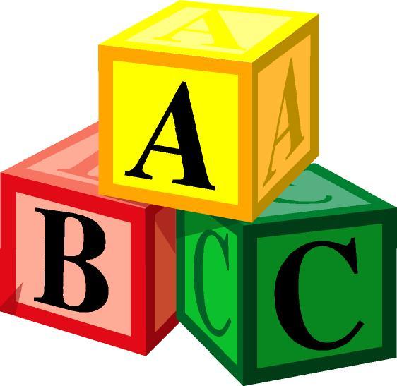 562x547 Abc Box Baby Toy Clipart