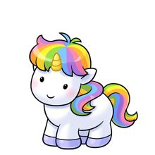 220x220 Unicornio Kawaii