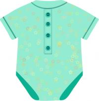 200x203 Blue Clipart Baby Clothes