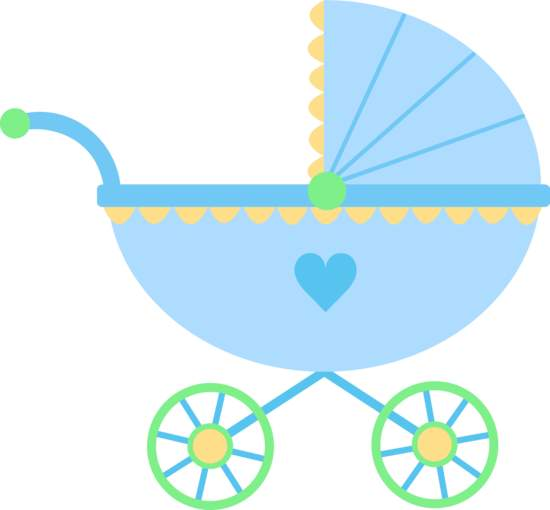 550x510 Stroller Baby Clipart
