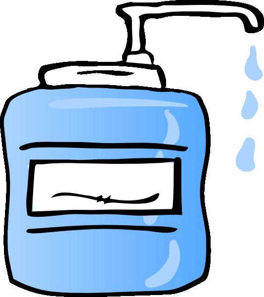 534x600 Hand Sanitizer Clipart