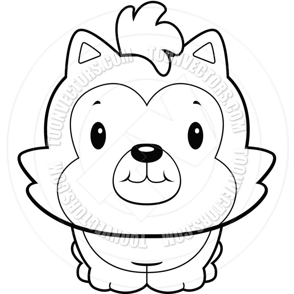 940x940 Wolf Clipart Baby Wolf