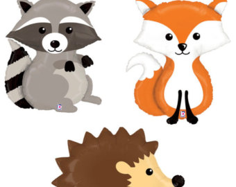 Baby woodland animals clipart free download best baby woodland