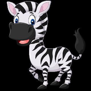 320x320 Adorable clipart zebra