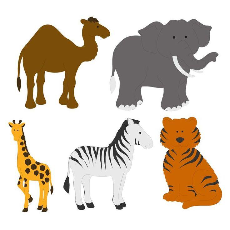736x736 Animal Kingdom Clipart Baby Zoo Animal