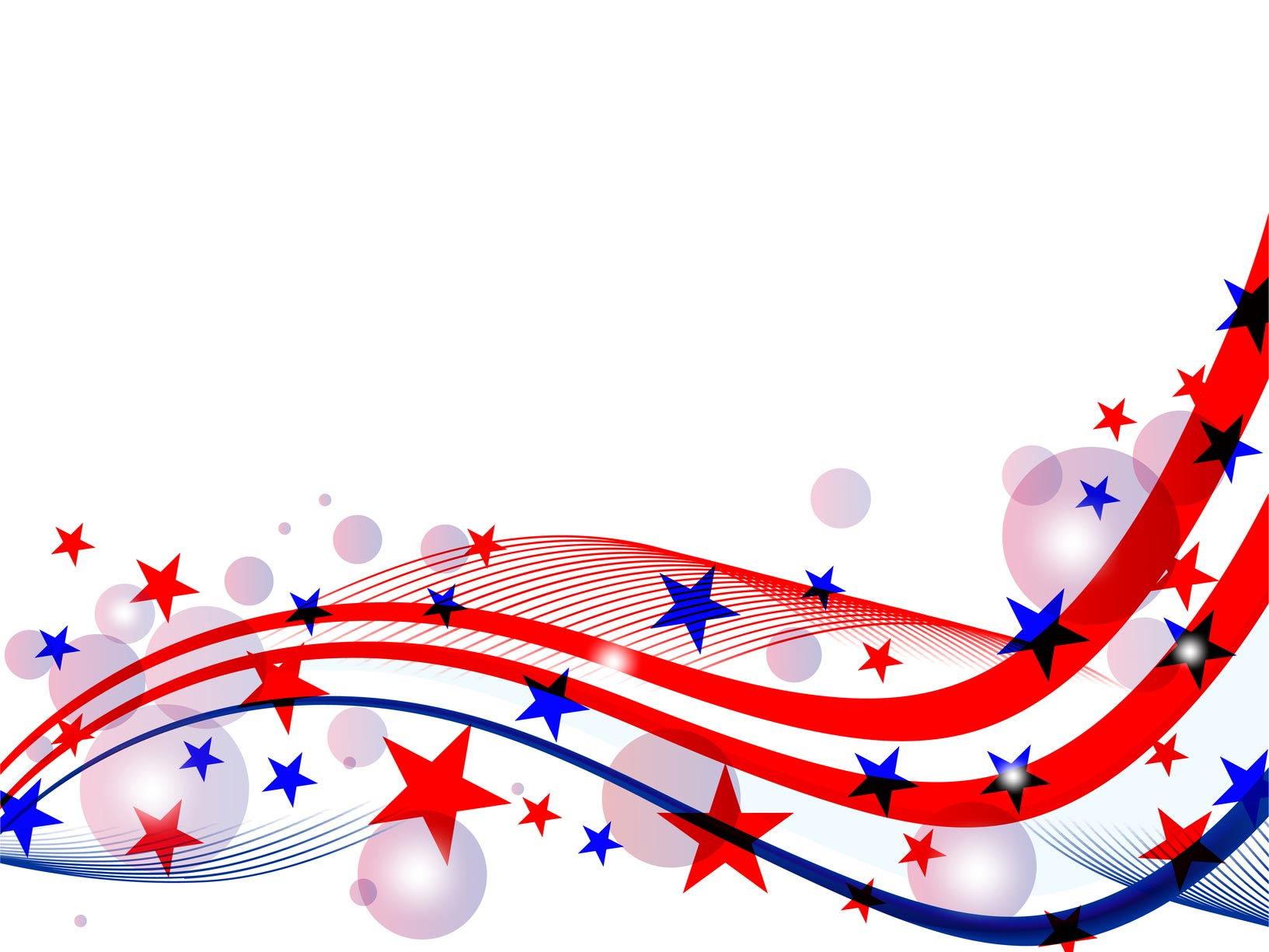 1633x1225 July 4th Background Clipart