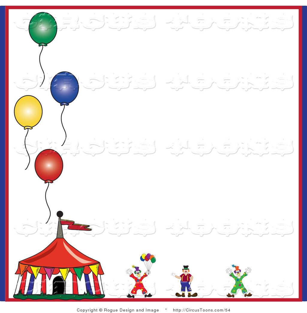 1024x1044 Circus Clipart Of Circus Clownnd Tent With Four Balloons On