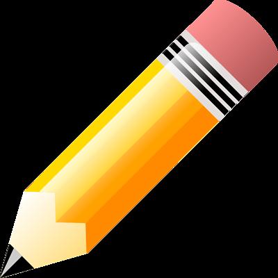 400x400 Pencil Clipart Transparent Background