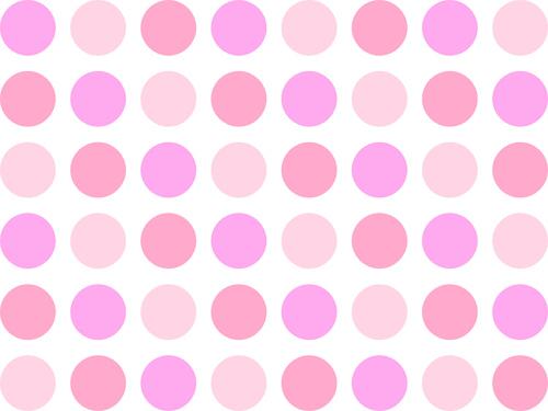 500x375 Polka Dot Background Clipart