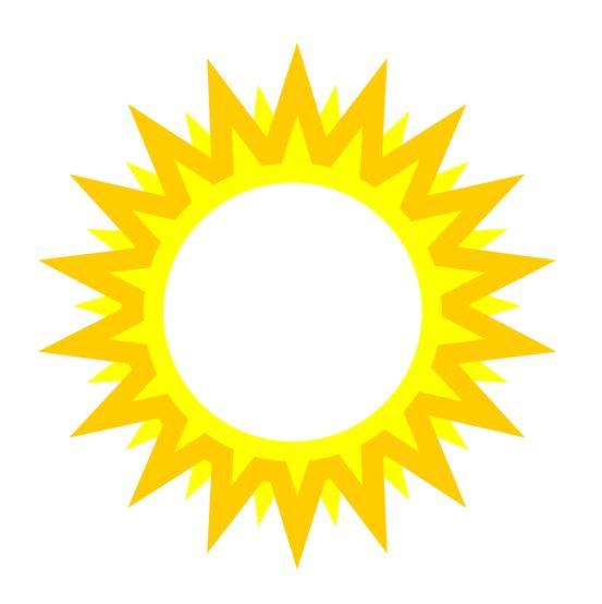 553x554 Sun Clipart No Background Cliparts