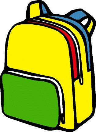 314x433 Backpack Scrap Books Backpacks Clip Art Image