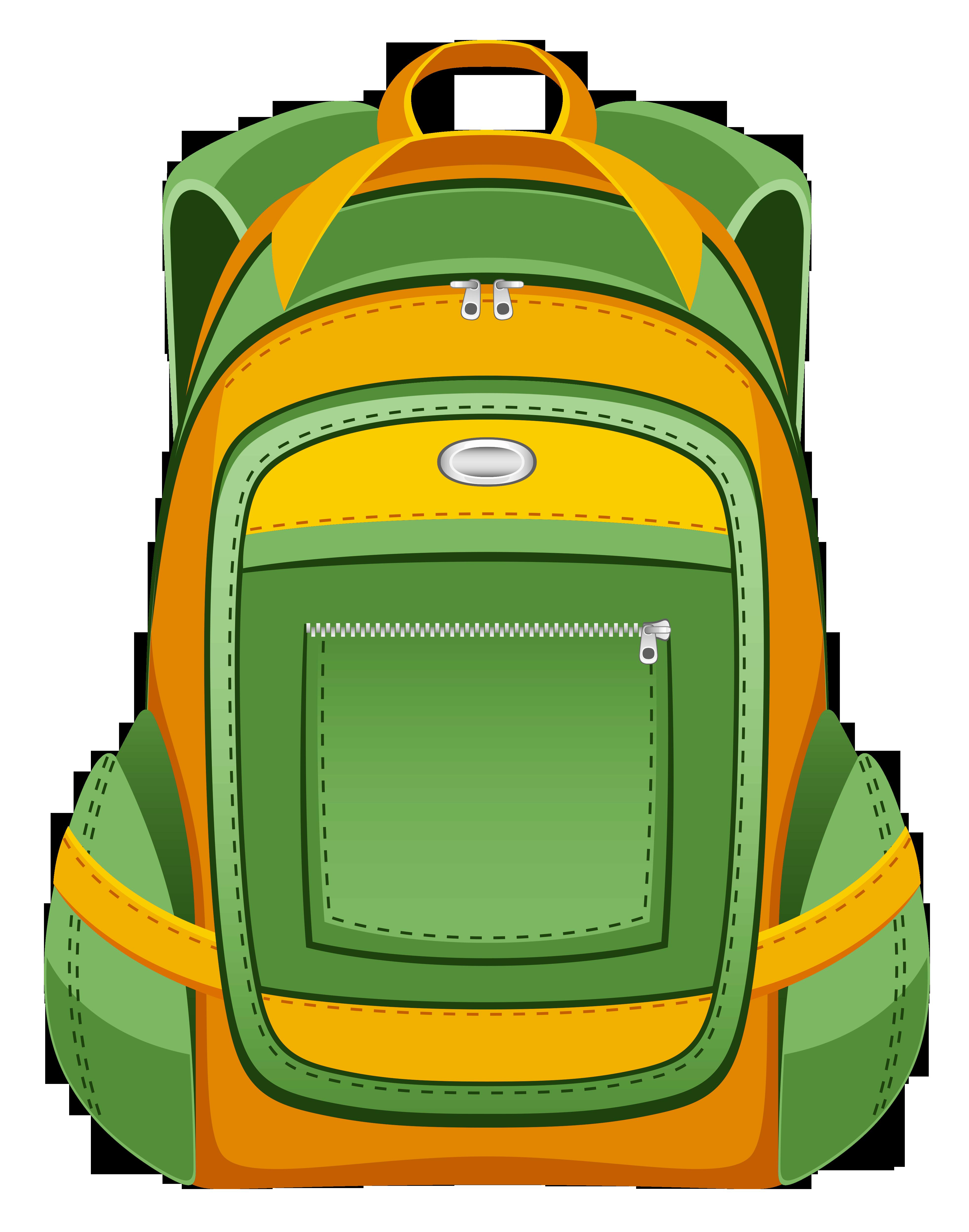 3924x4992 Bag Clipart School Item