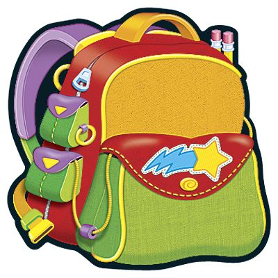 400x400 Free Backpack Clipart Pictures 3