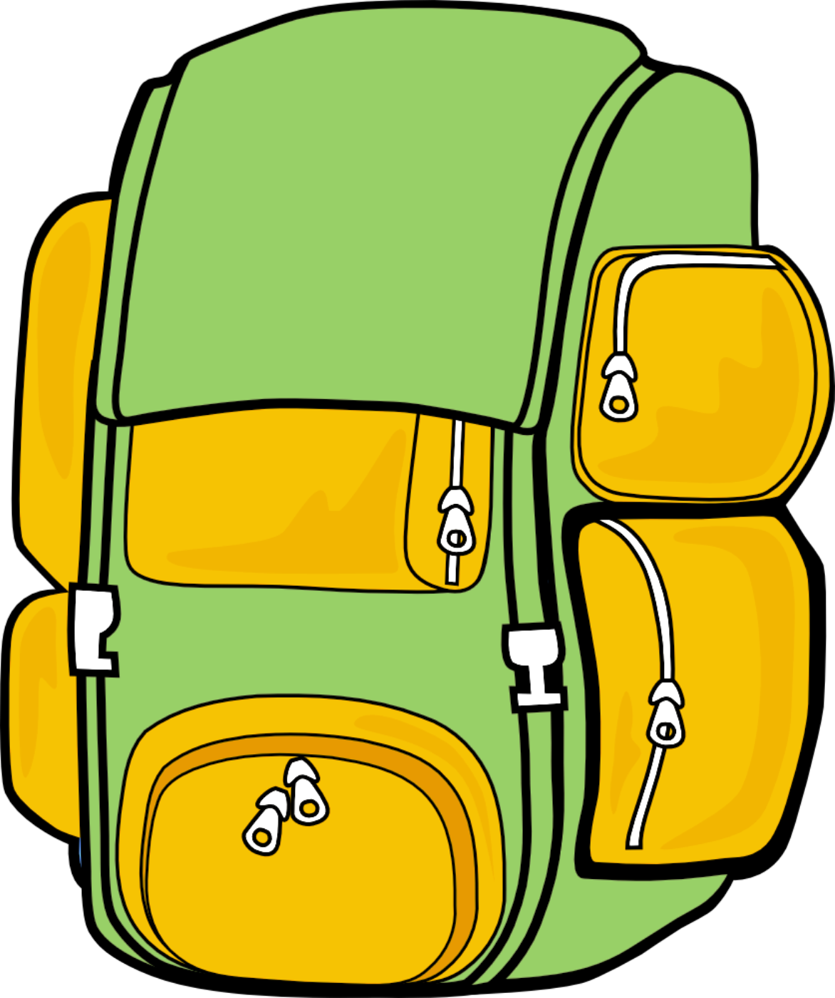 1172x1400 Camp Clipart Backpack