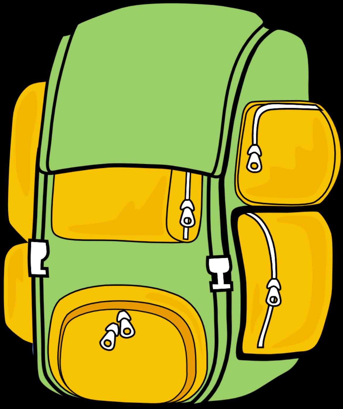 1172x1400 Bookbag Backpack Clipart 6 Image