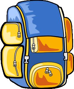 249x298 Backpack Clip Art