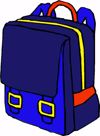 324x441 Free Backpack Clipart Clip Art Images 3