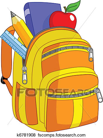 351x470 Backpack Clipart Royalty Free. 19,523 Backpack Clip Art Vector Eps