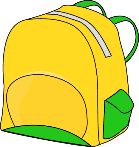 466x491 School Backpack Clipart Free Images 10
