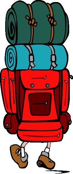 252x597 Backpack Clip Art