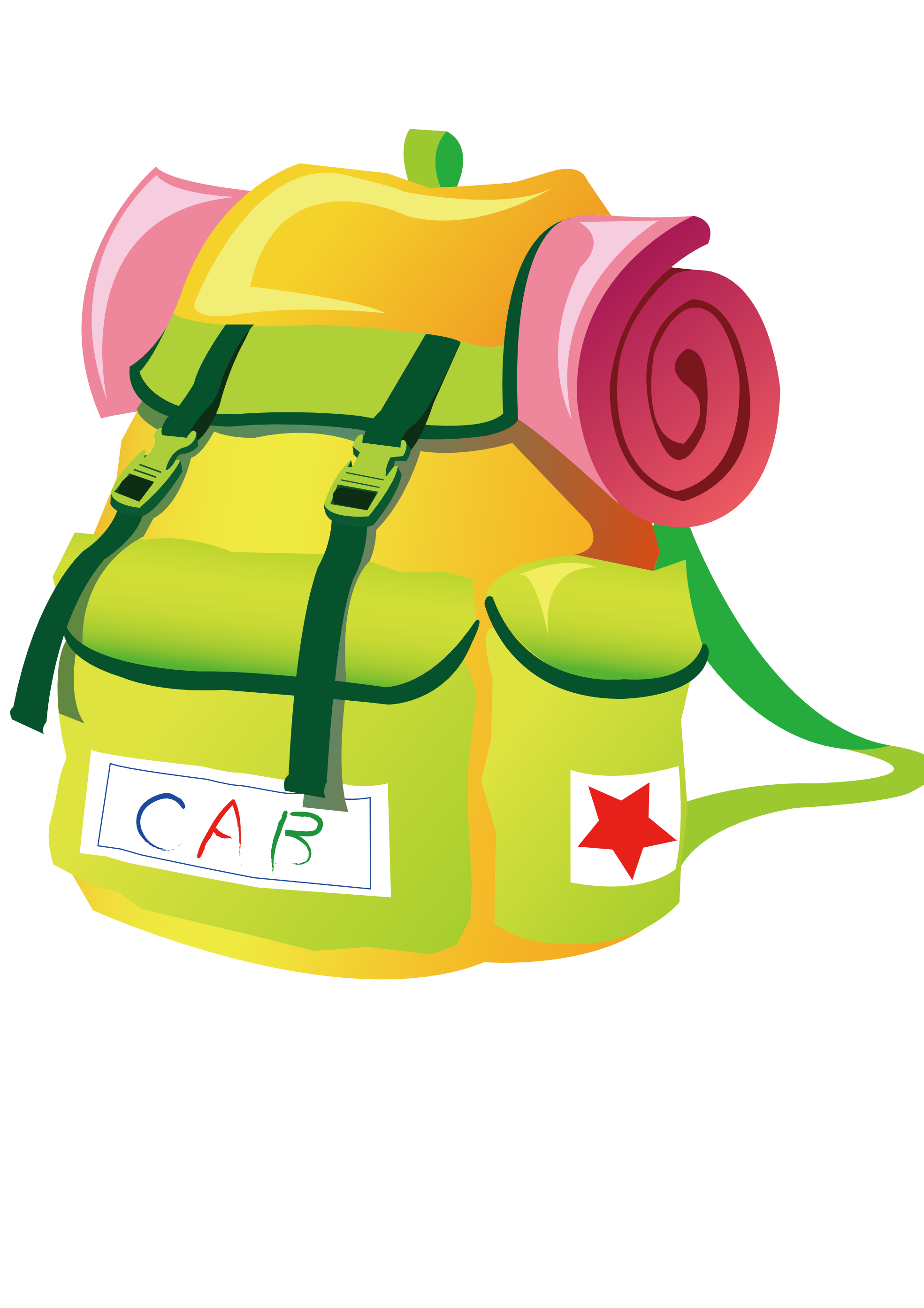 1969x2785 Clip Art Travel Backpacks Svg