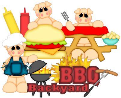 Backyard Bbq Clipart