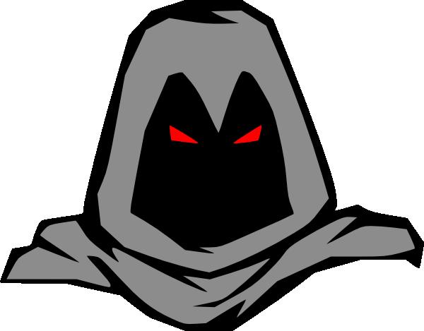 600x469 Masked Man Clip Art