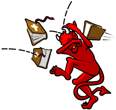 400x380 Satanism Clipart Bad Guy
