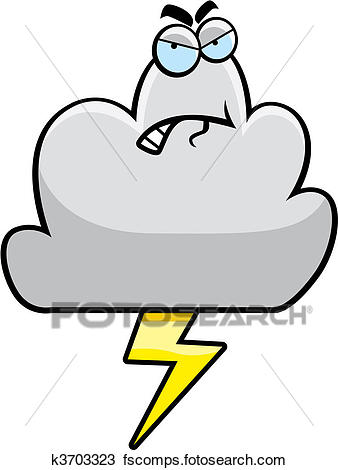 338x470 Clipart Of Bad Weather K3703323