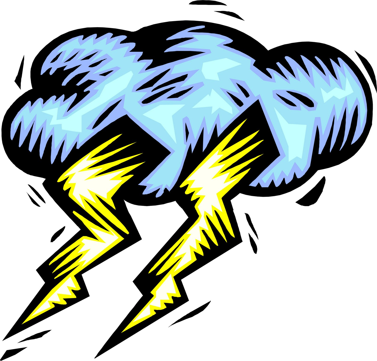 1600x1534 Lightning Clouds Clipart