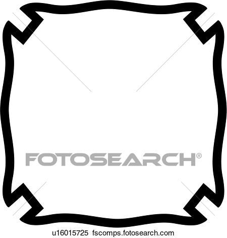 450x470 Clipart Of , Badge, Department, Fire, Plaque, Fire Department