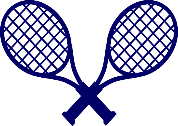 600x427 Badminton Racquet Clip Art