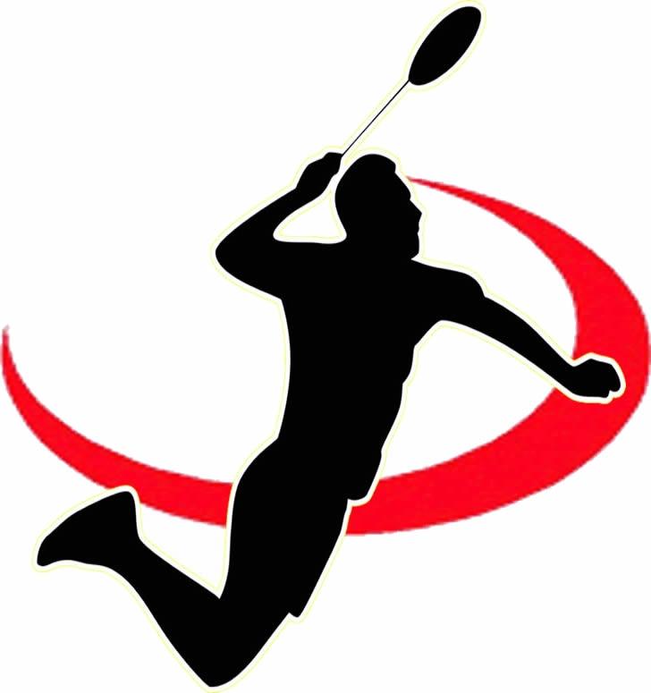 728x775 Badminton Silhouette Cliparts 176656