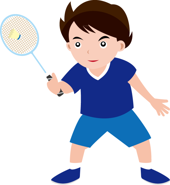 589x639 Best Badminton Clipart