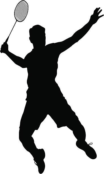 367x612 Moves Clipart Badminton