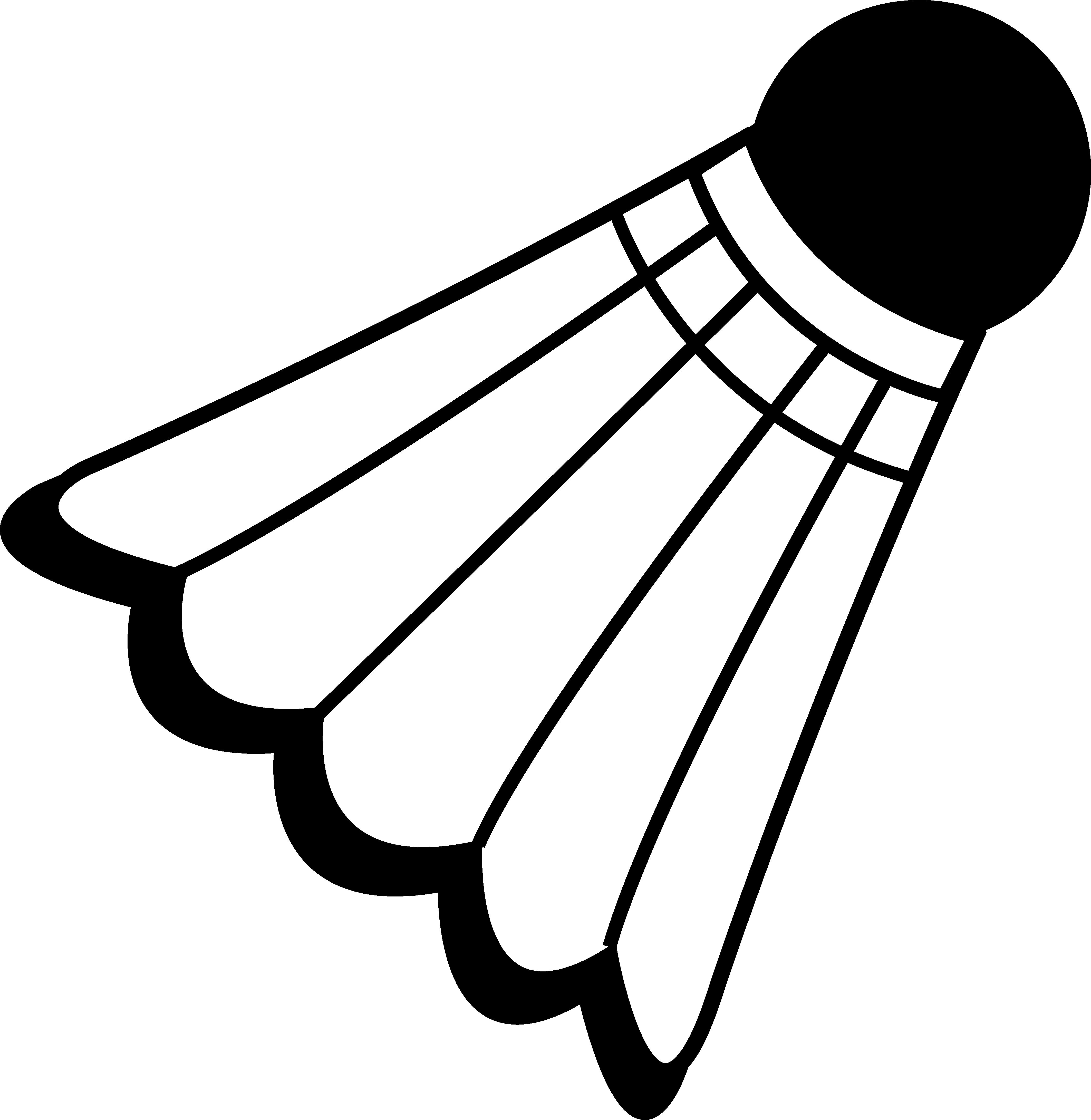 4251x4364 Badminton Birdie