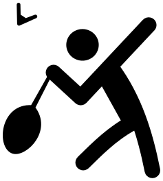 237x264 Badminton Clip Art Download
