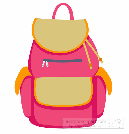 530x550 Products Clipart Back Bag