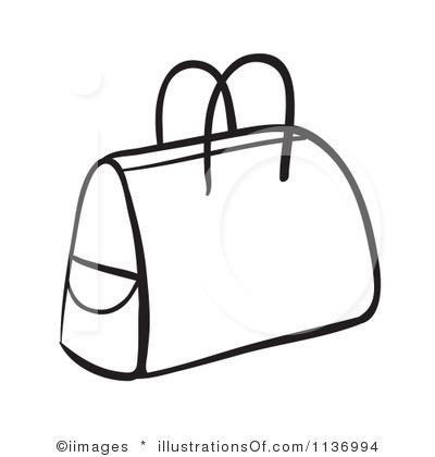 400x420 Purse Clipart Black Suitcase
