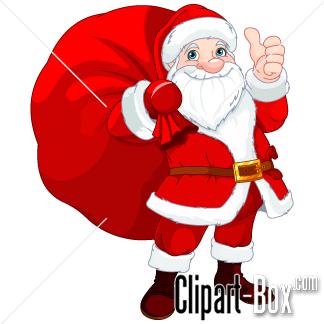 324x324 Santa Bag Clipart