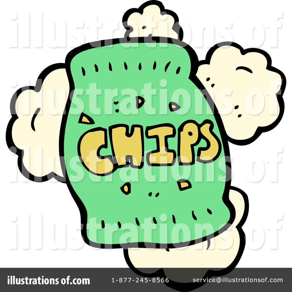 1024x1024 Bag Of Chips Clipart