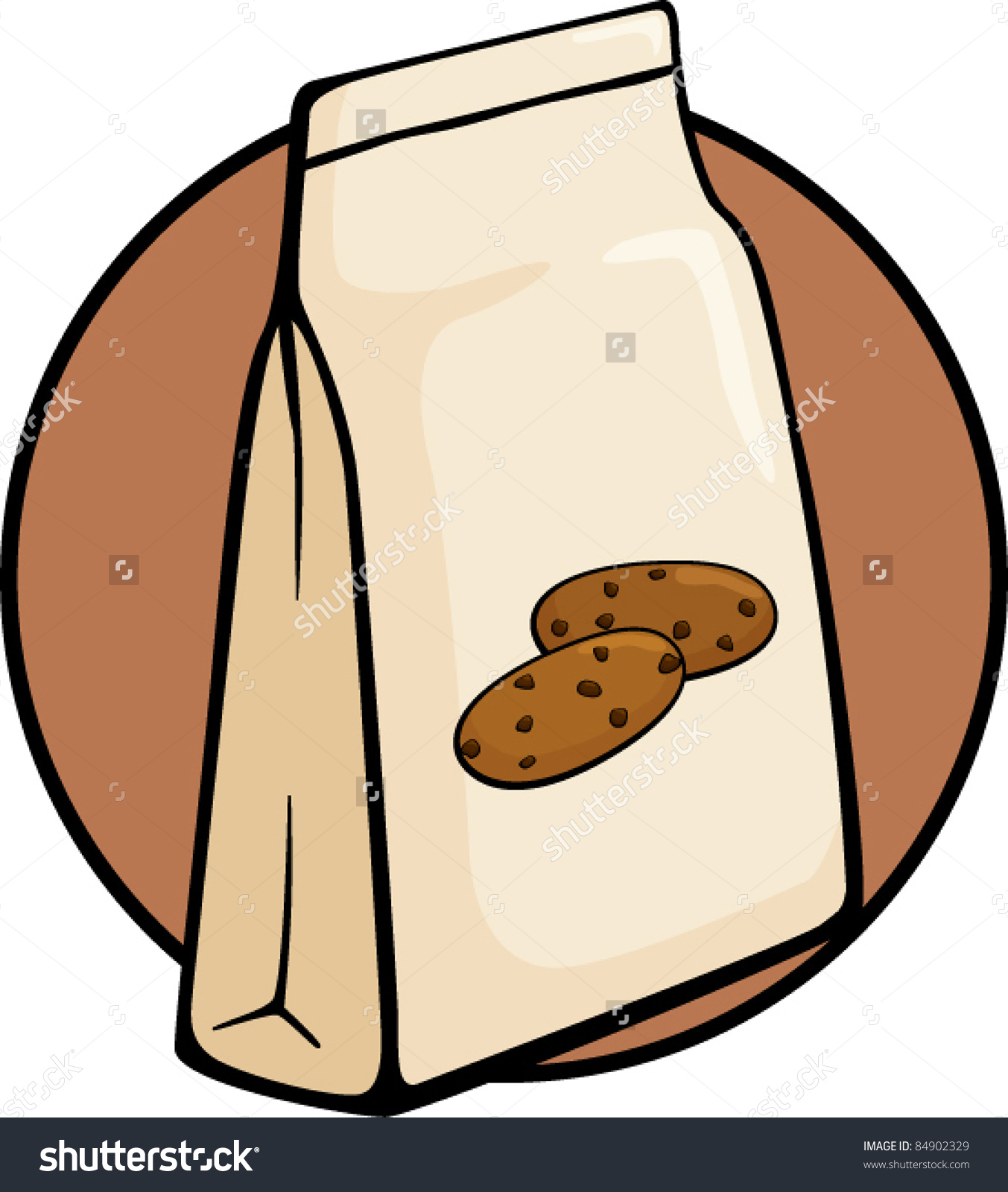 1353x1600 Bag Of Chocolate Chips Clipart