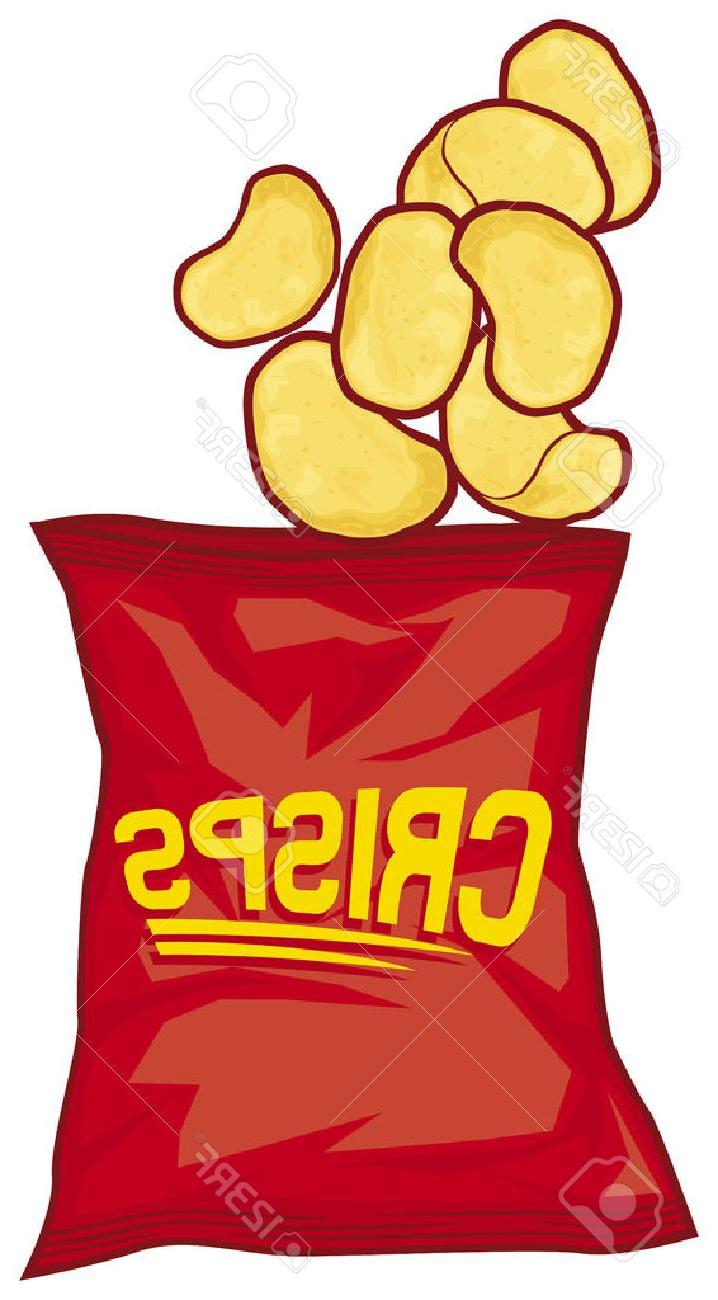 718x1300 Best Hd Potato Chips Bag Crisps Stock Vector File Free