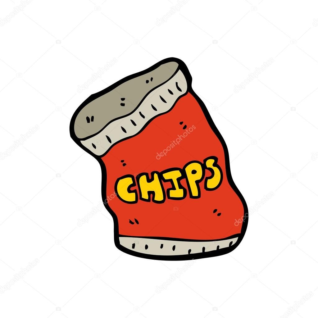1024x1024 Potato Chips Clipart Cartoon