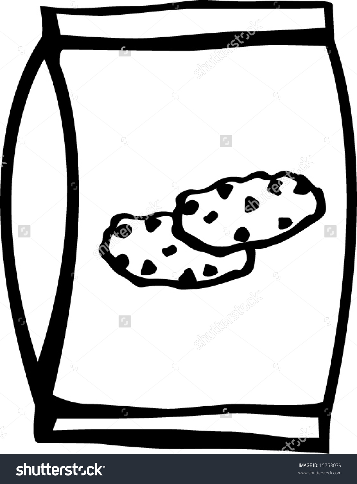1180x1600 Bag Of Chocolate Chips Clipart